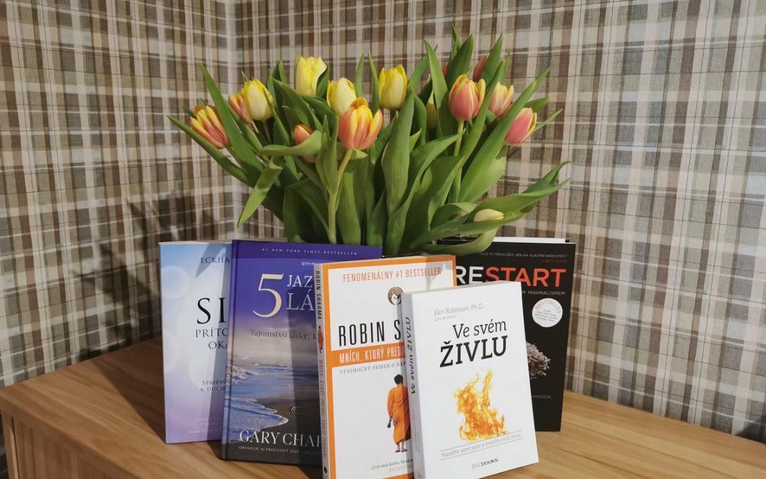 Oslávme mesiac knihy čítaním kvalitnej motivačnej literatúry